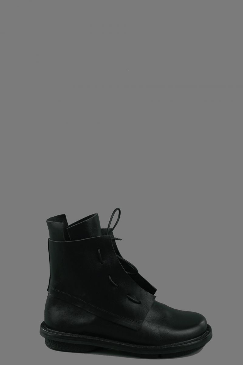 Laced Calf Boots