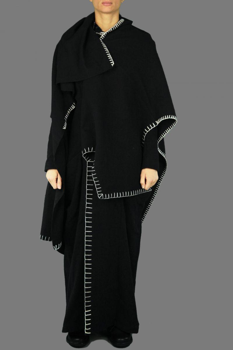 Blanket Mantle Coat Dress