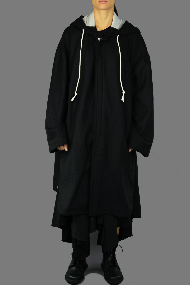 K-Hooded Coat