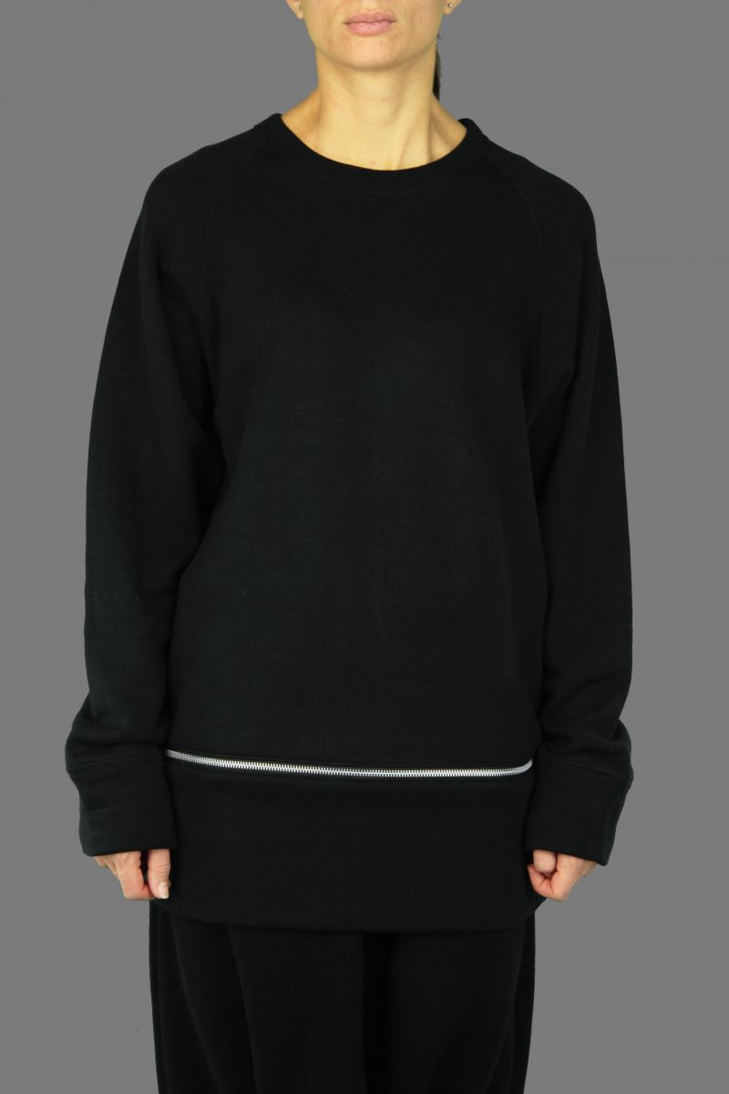 Panel Zip Sweater
