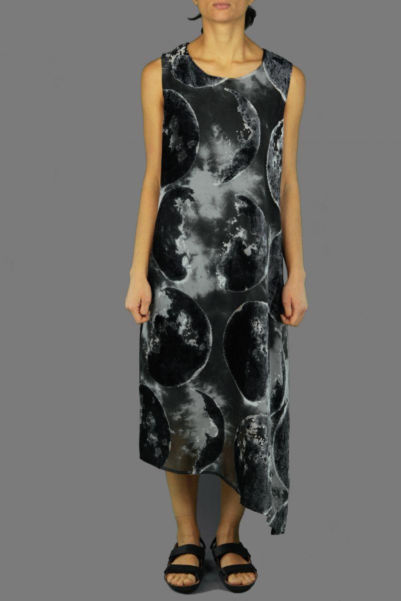 Assymetric Slvless Dress