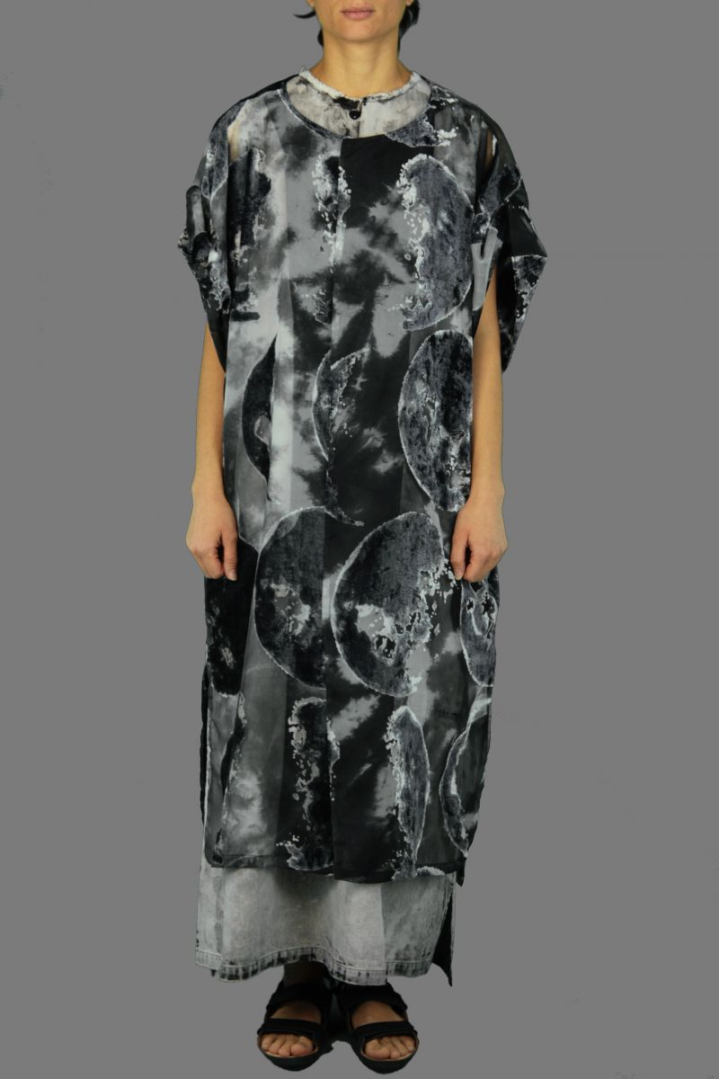 Folded Slv Dress