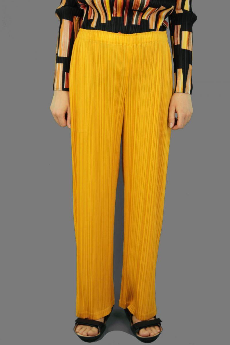 Straight Gold Pants
