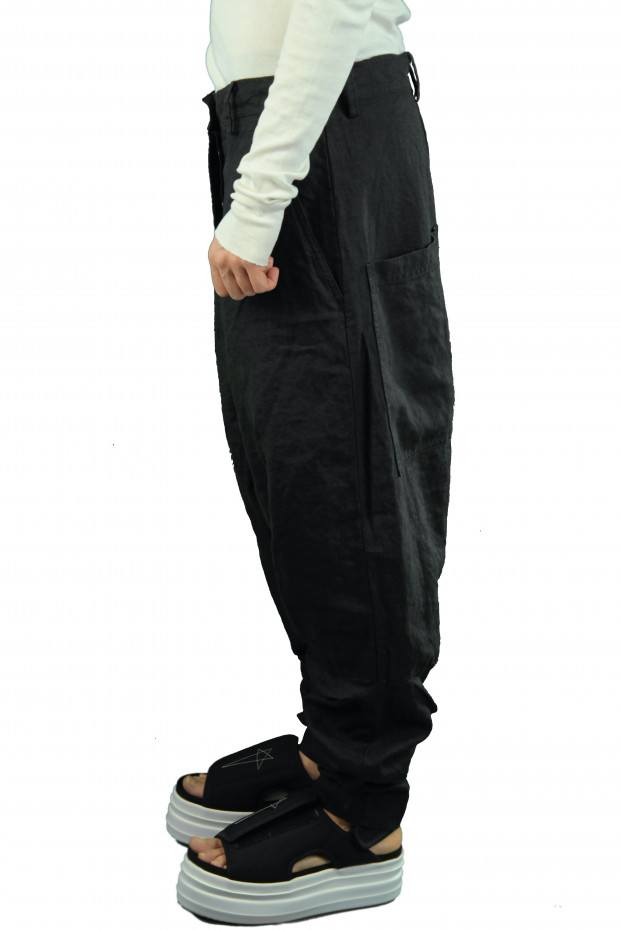 POCKET LARGE TROUSERS