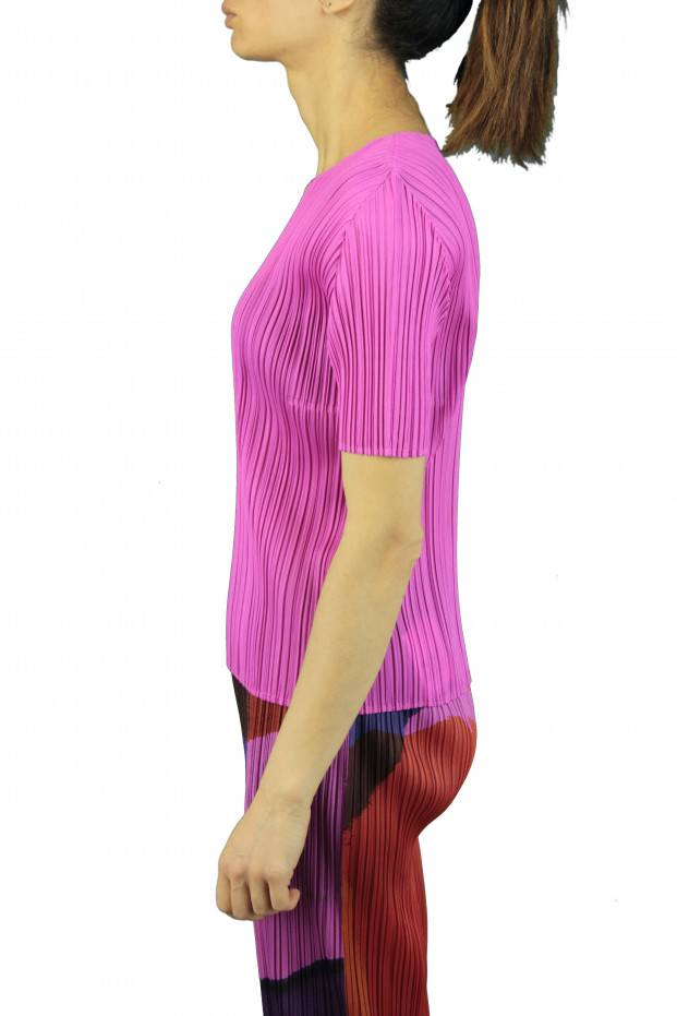 Pleats Please Issey Miyake NEW COLORFUL T-SHIRT
