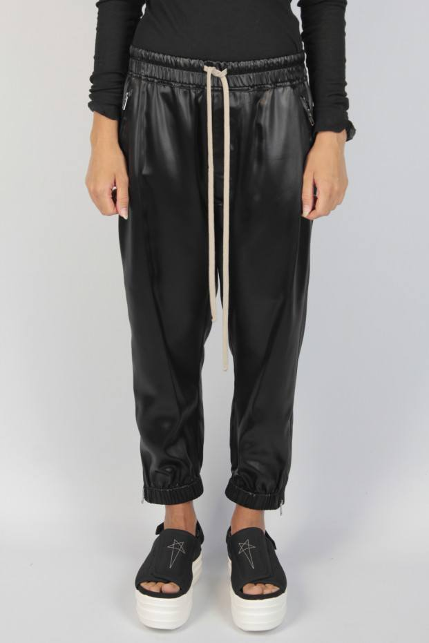 Cropped Track Trousers
