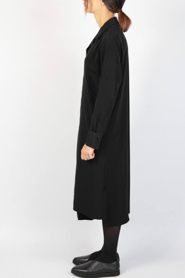 Gather Shirt Dress