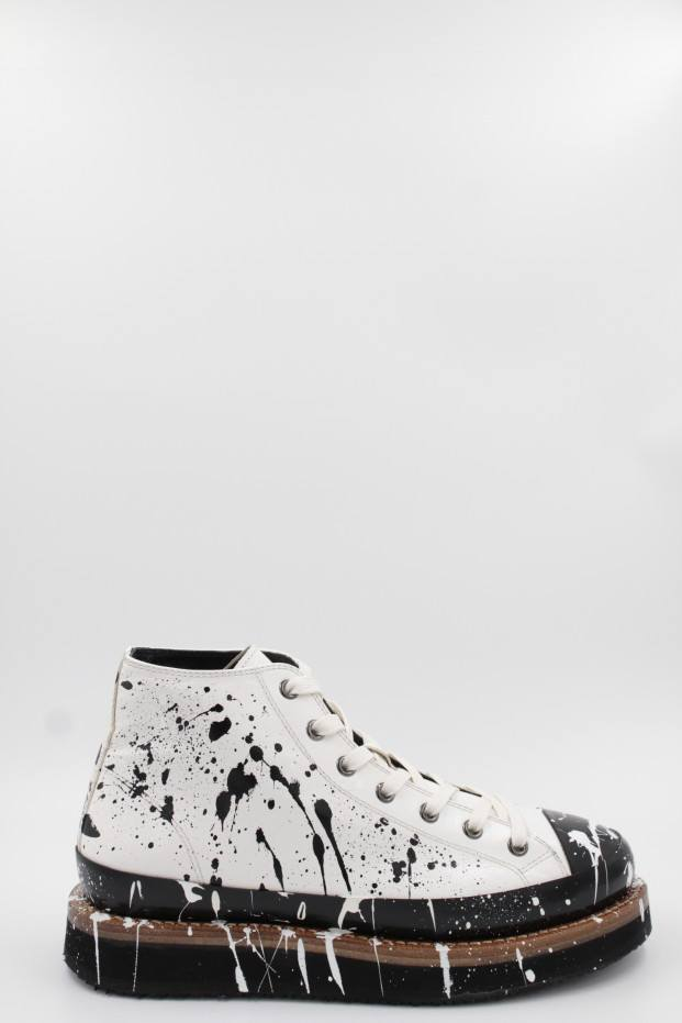 CAPPELLETTI SHOES Conv. Mid.Painted