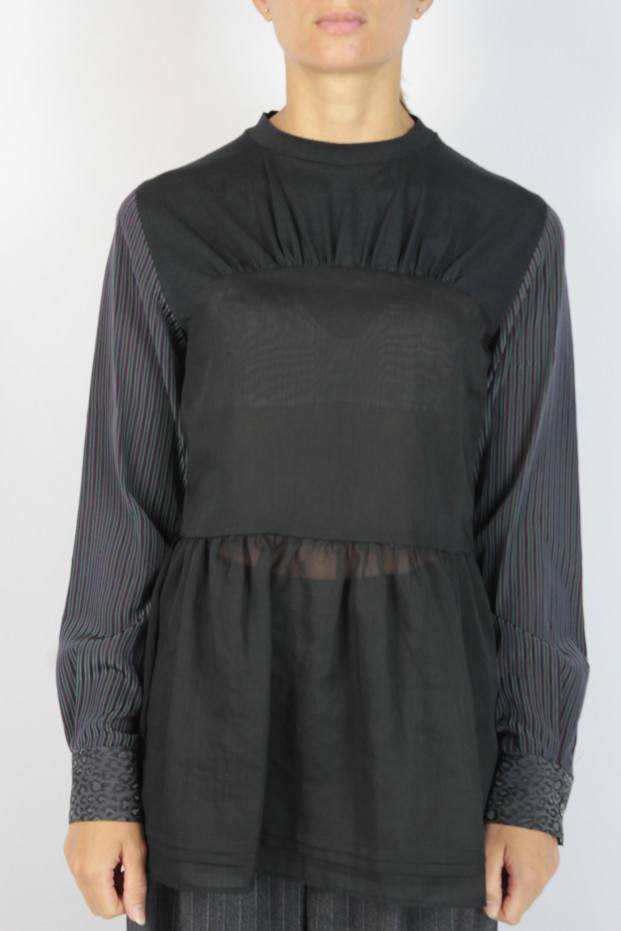 Open Shirt Blouse