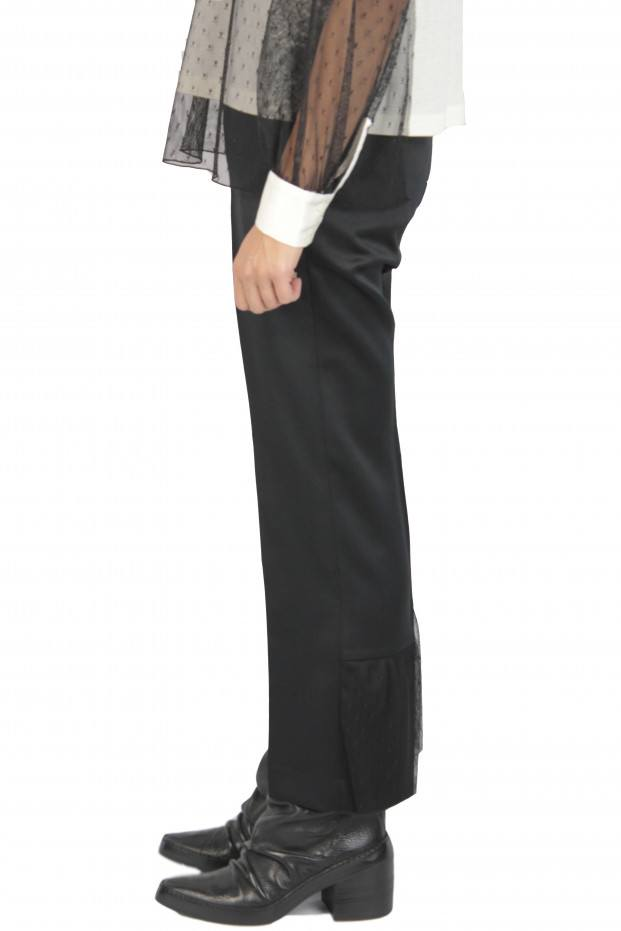 Crease Straight Pants