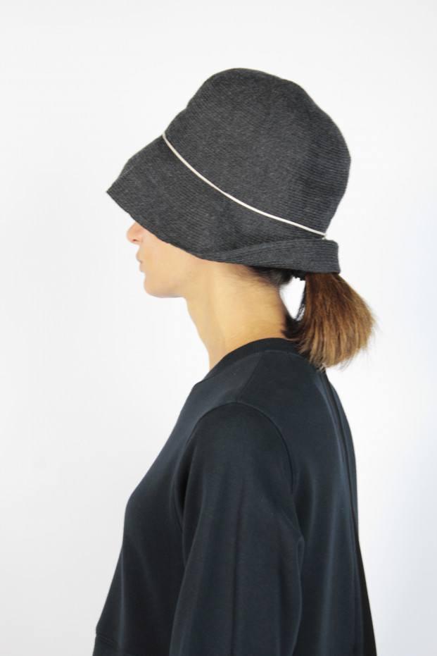 MATURE ha. Box Braid Hat