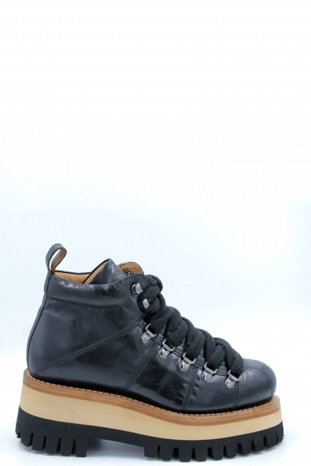 Laced Mountain Boots