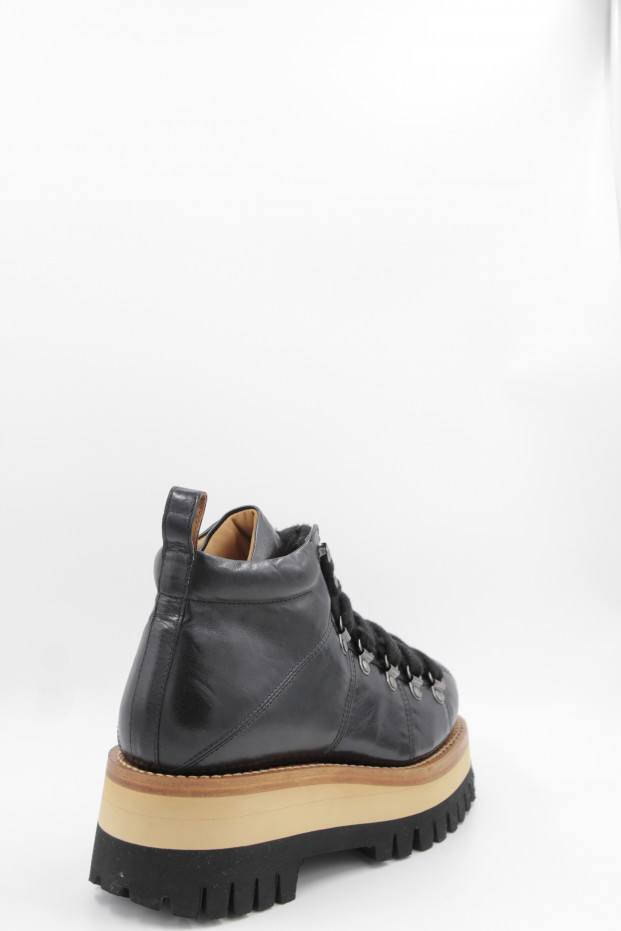 CAPPELLETTI SHOES Laced Mountain Boots