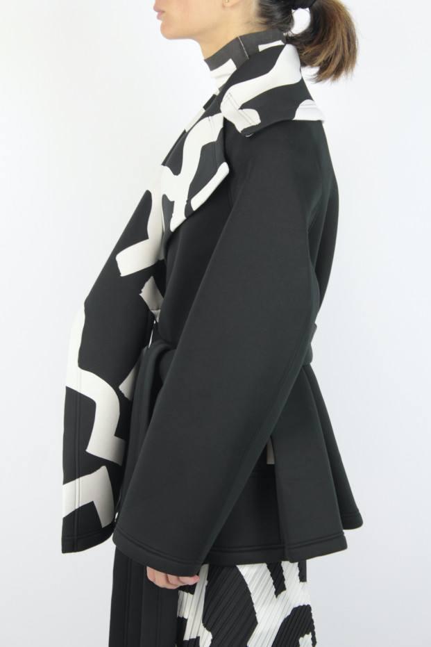 Issey Miyake Short Hued Coat