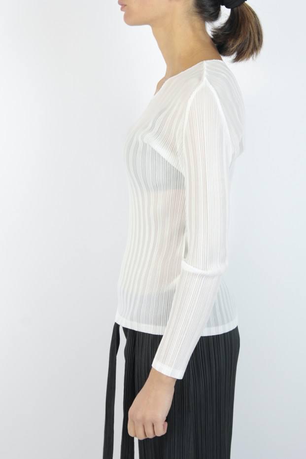 Pleats Please Issey Miyake Rib Pleats B T-Shirt