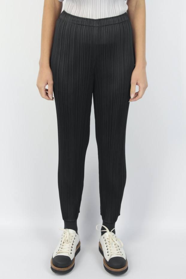 Pleats Please Issey Miyake Basic Stretch Pants