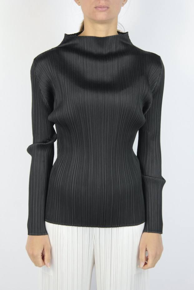 Pleats Please Issey Miyake Basic Ls Sweater