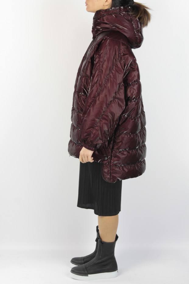 Ahirain Gloss Rain Short Coat