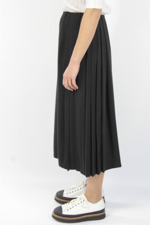 Pleats Long Skirt