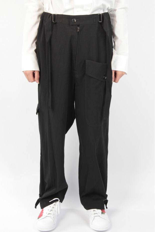 Belted Thick Pants