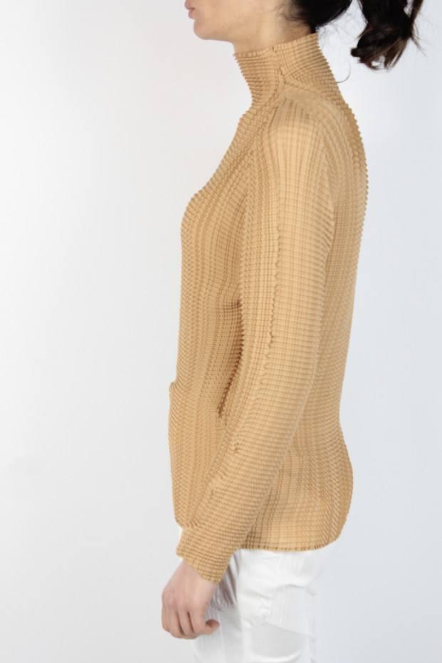 Issey Miyake Long Sleeve Top