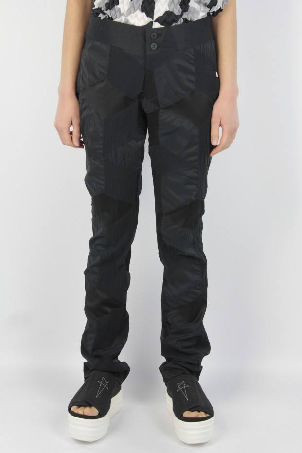 Issey Miyake Straight Fit Pants