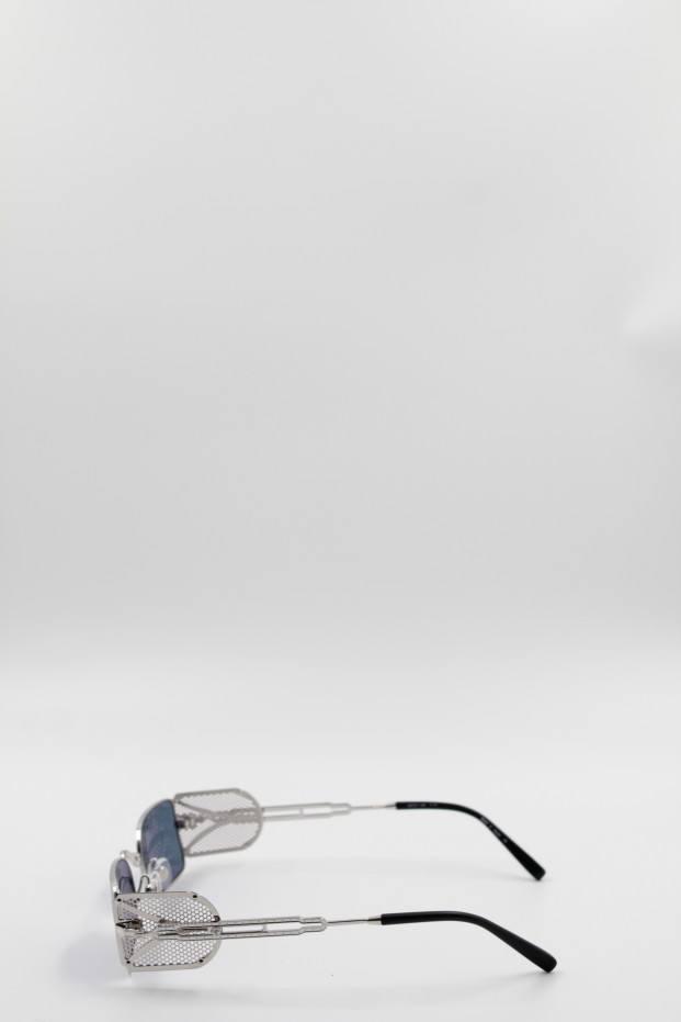 Matsuda Eyewear Brushed Silver Sunglasses