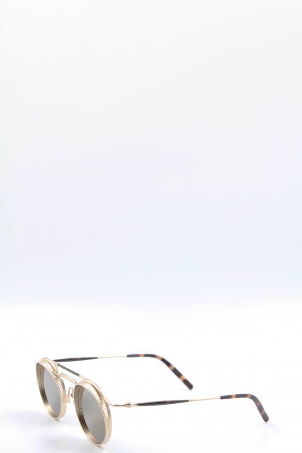 Matsuda Eyewear Matte Gold Platted Sunglasses