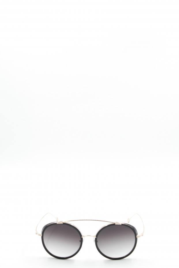 Matsuda Eyewear Brushed Gold Sunglasses