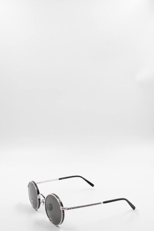 Matsuda Eyewear Palladium White Sunglasses