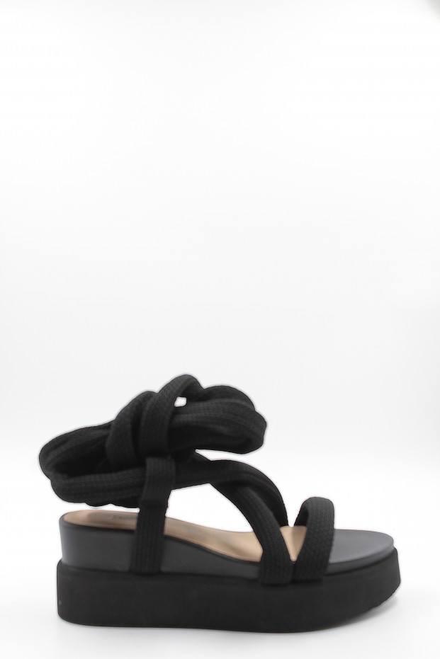 Issey Miyake Node Laced Sandal