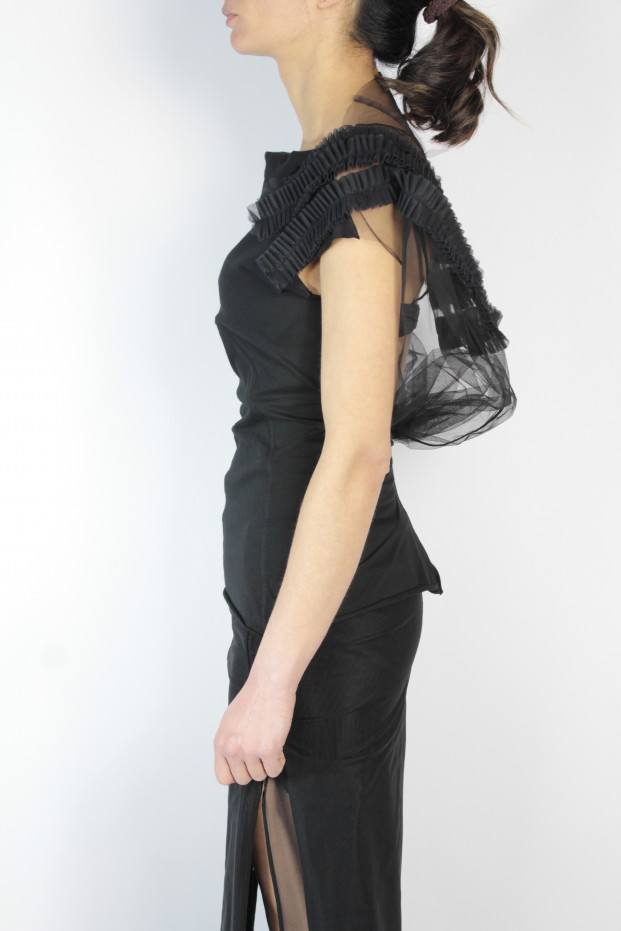 Rick Owens Georuffle Top
