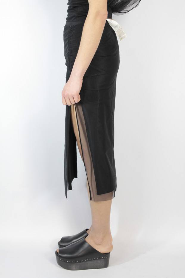 Collage Knee Lenght Skirt