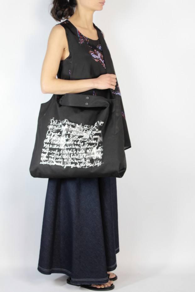 Yohji Yamamoto Dot Button Tote Bag