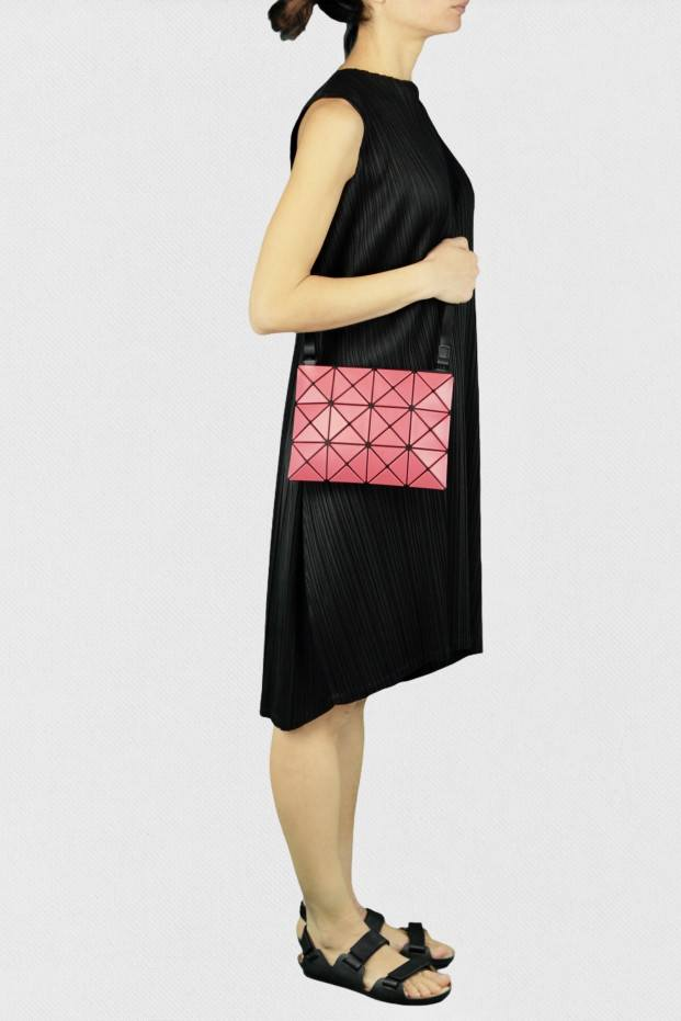 Bao Bao Issey Miyake Lucent Matte Cross Bag