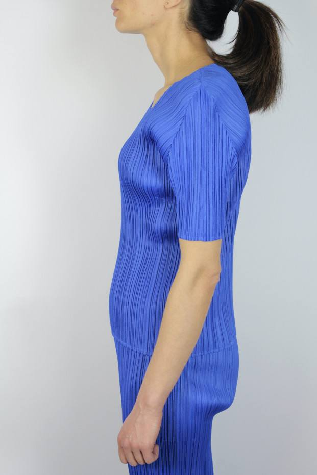 Pleats Please Issey Miyake New Colorful Basics T-Shirt