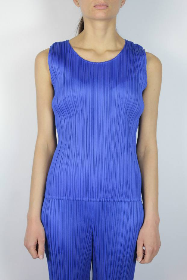 Pleats Please Issey Miyake New Colorful Basics Top