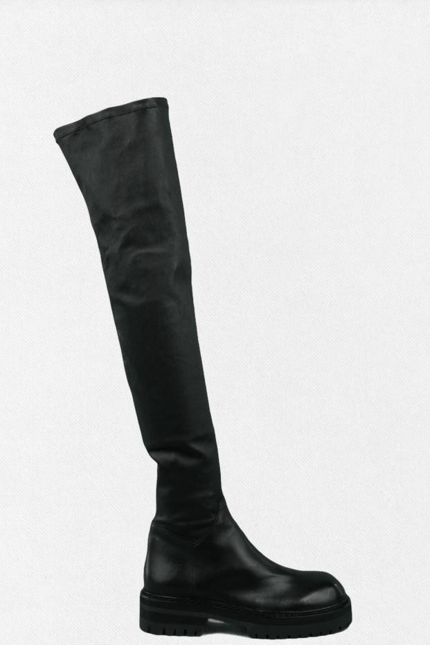 Boots Stretch Leather