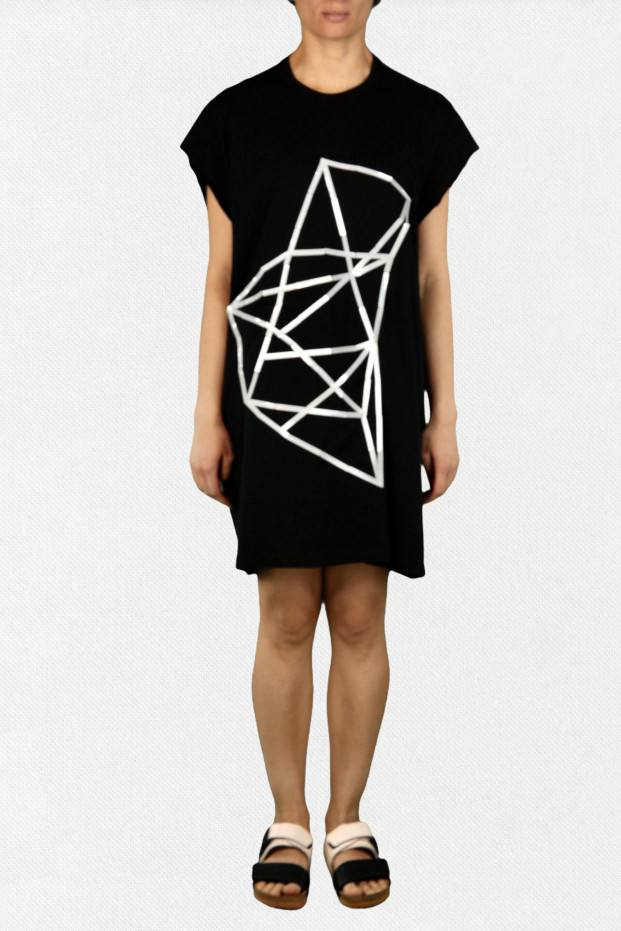 Star Tee Dress