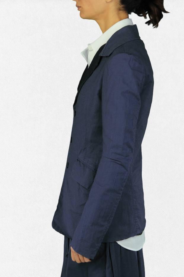 U-Shirt Collar Jacket