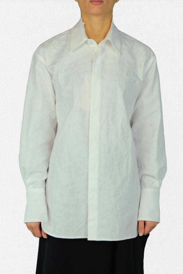 Y's Collar Lace Shirt