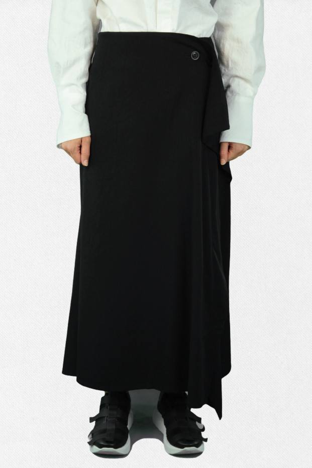 Y's Wrap Like Flare Skirt
