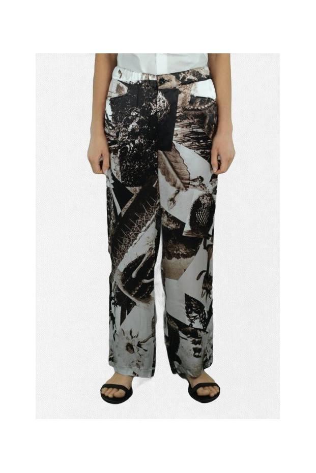 K-Elastic Wide Pants