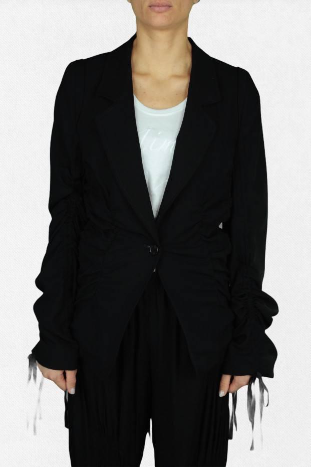 Ann Demeulemeester Lightlaine Laces Jacket