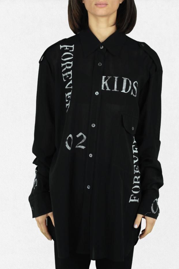 Ann Demeulemeester Alexis Dark Shirt