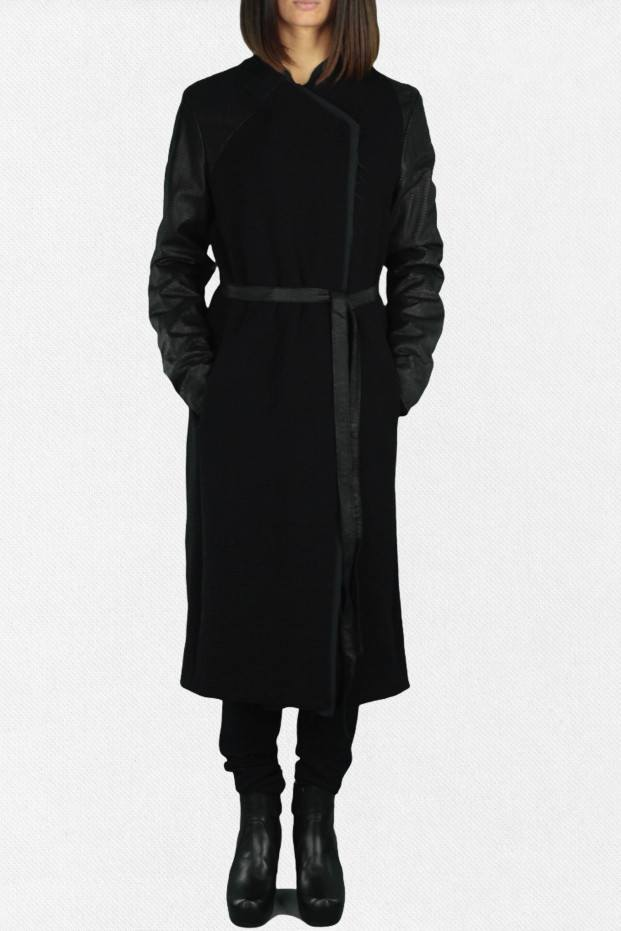 Giorgio Brato Long Dark Coat