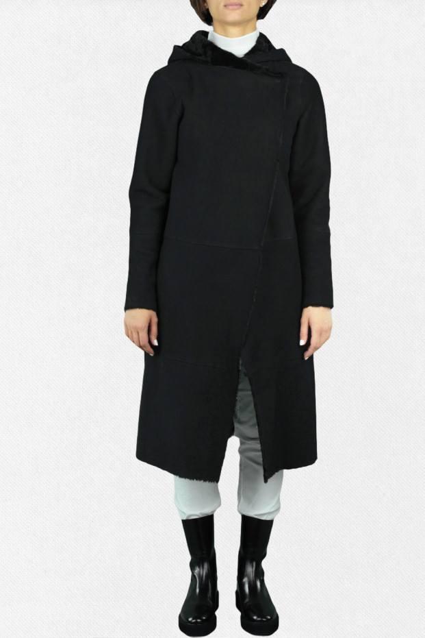 Long Shearling Coat