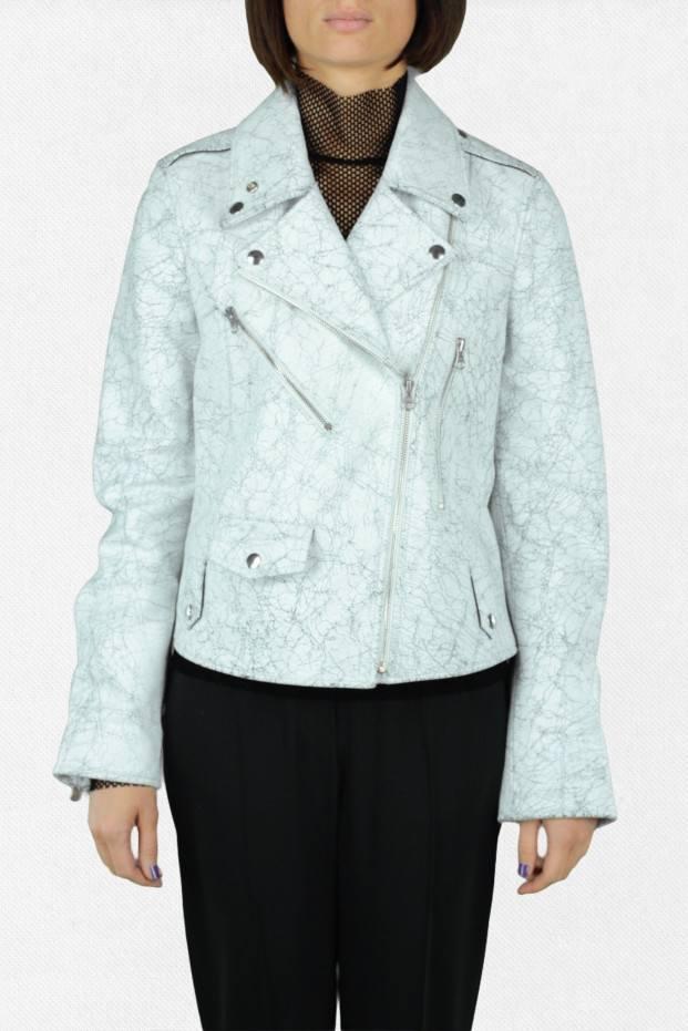 Craklè Short Leather Jacket
