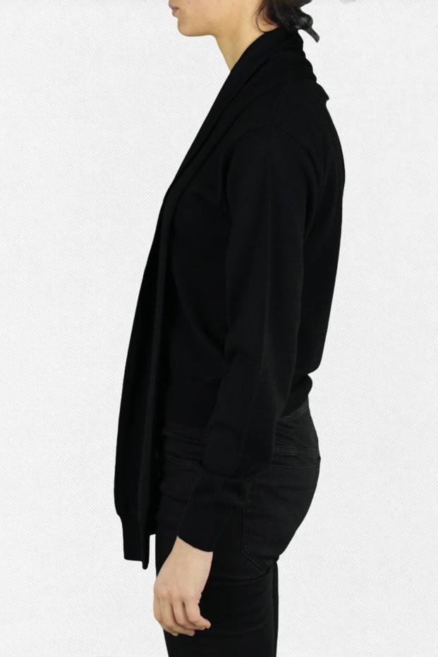 Gauge 12 Pullover  Nero