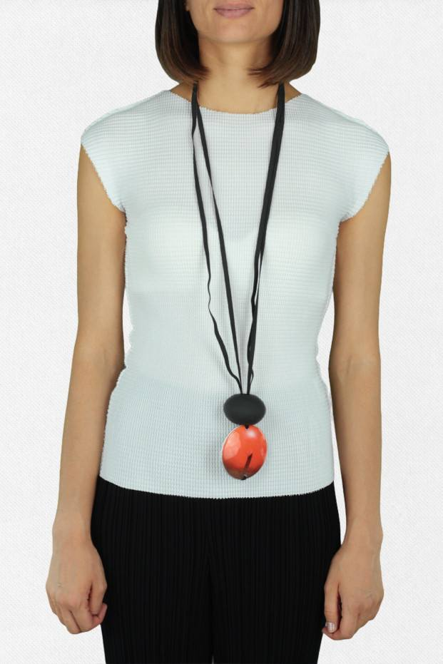 Long Circle Necklace